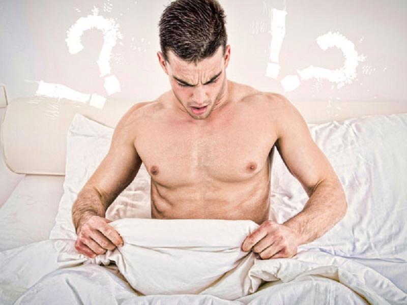 Biasanya, kondisi ini berupa abnormalitas pada sistem reproduksi seorang pria, salah satunya orgasme kering.