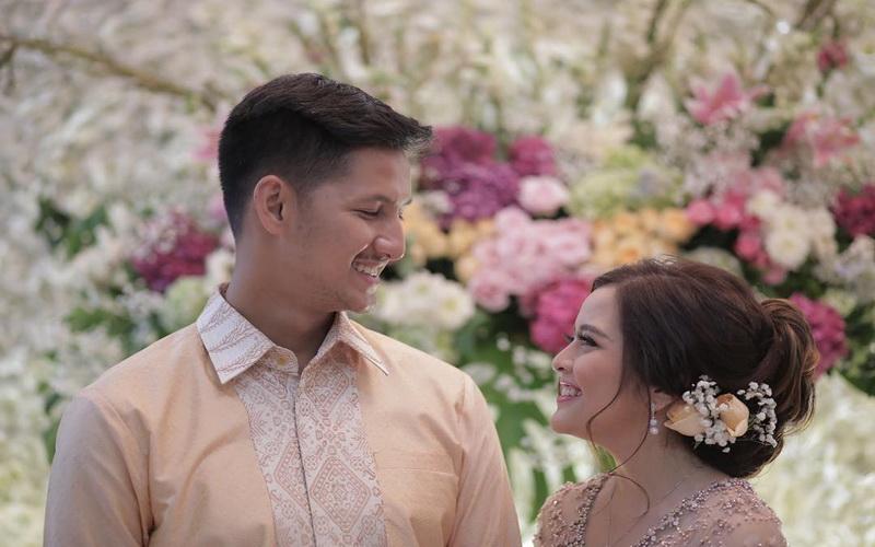 Bikin Pangling Tasya Kamila Berbalut Kebaya Dalam Pre Wedding