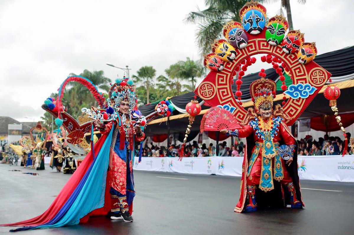 Jember Fashion Carnaval   Sumber: OKezone