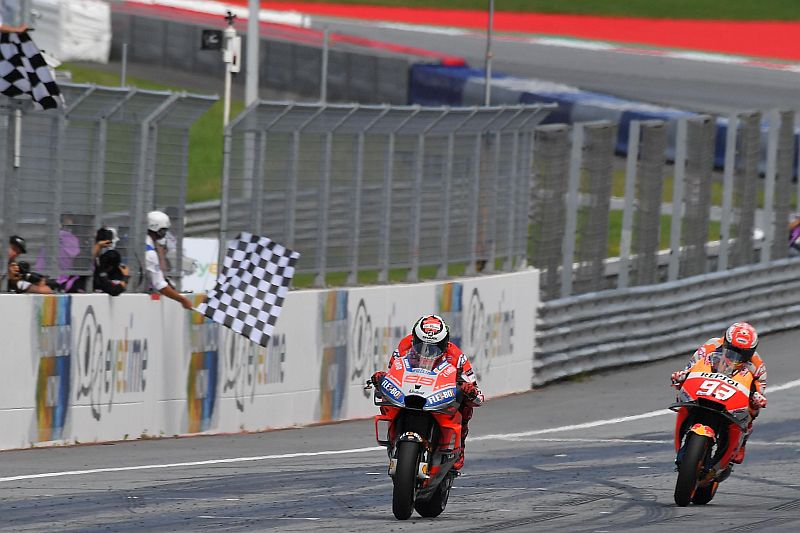 Lorenzo Cemaskan Kecepatan Marquez di MotoGP San Marino 2018