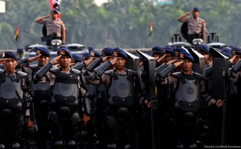 Inilah perbedaan TNI dan  Polisi dalam Status Kedudukannya