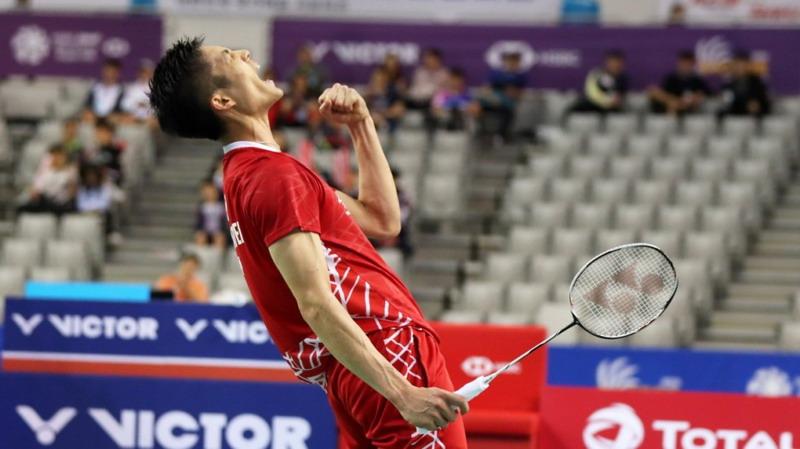Chou Tien Chen Persembahkan Gelar Korea Open untuk Korban Gempa Palu