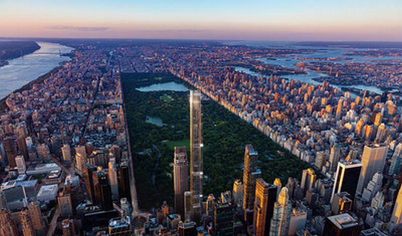 Central Park Tower Gedung Pencakar Langit Terbaru Di New York