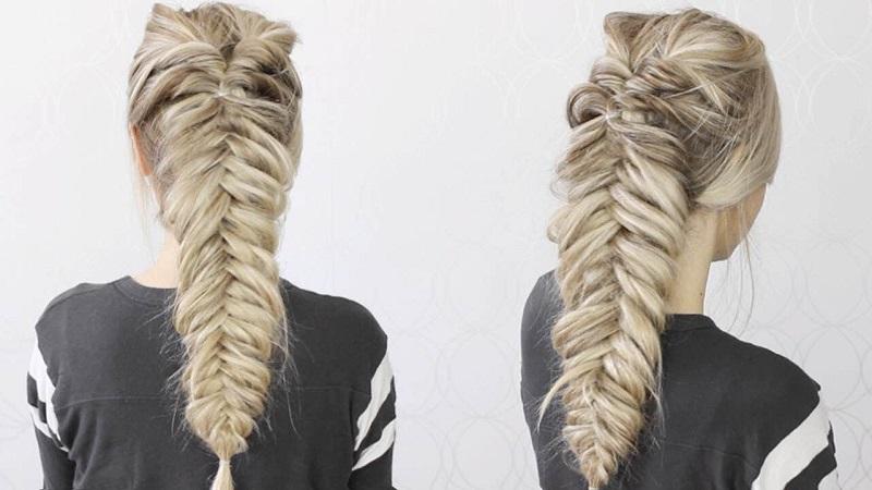 ciptakan tampilan fresh dengan gaya rambut kepang fishtail begini cara bikinnya u5uV9yoNj6