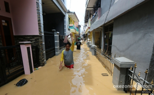 Musim Hujan Tiba, Ada 26 Titik Rawan Banjir di Jakarta