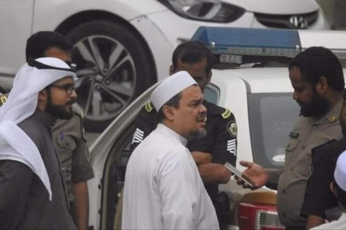 Hasil gambar untuk habib rizieq arab saudi