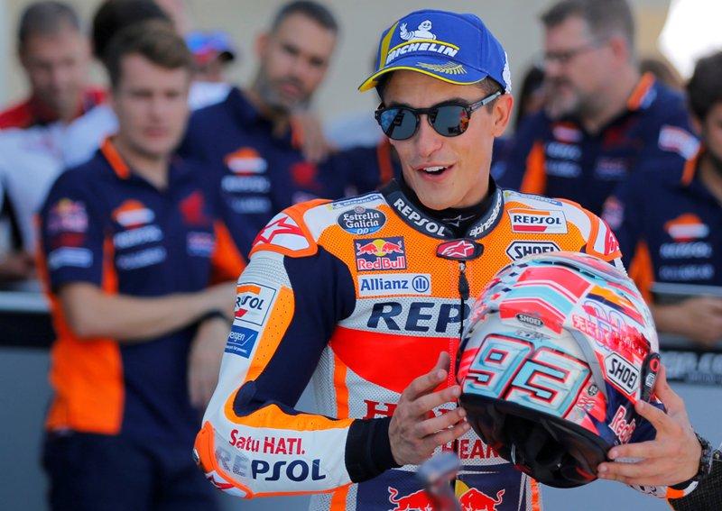 Sudah Kunci Gelar Juara Musim Ini, Ini Target Marquez di Valencia
