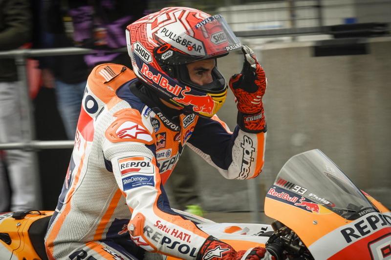 Meski Telah Kunci Gelar Juara, Marquez Tetap Tampil Optimal di Valencia