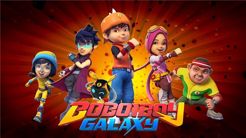 Boboiboy Galaxy Hadir Dalam Format Dvd Pee Wee Gaskin Isi