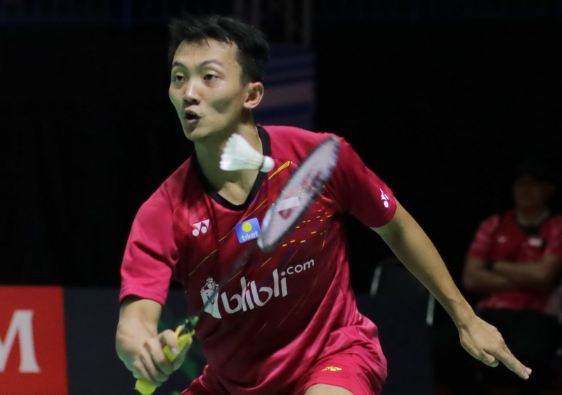 Takluk dari Jagoan Tuan Rumah, Ihsan Gagal ke Semifinal Korea Masters 2018