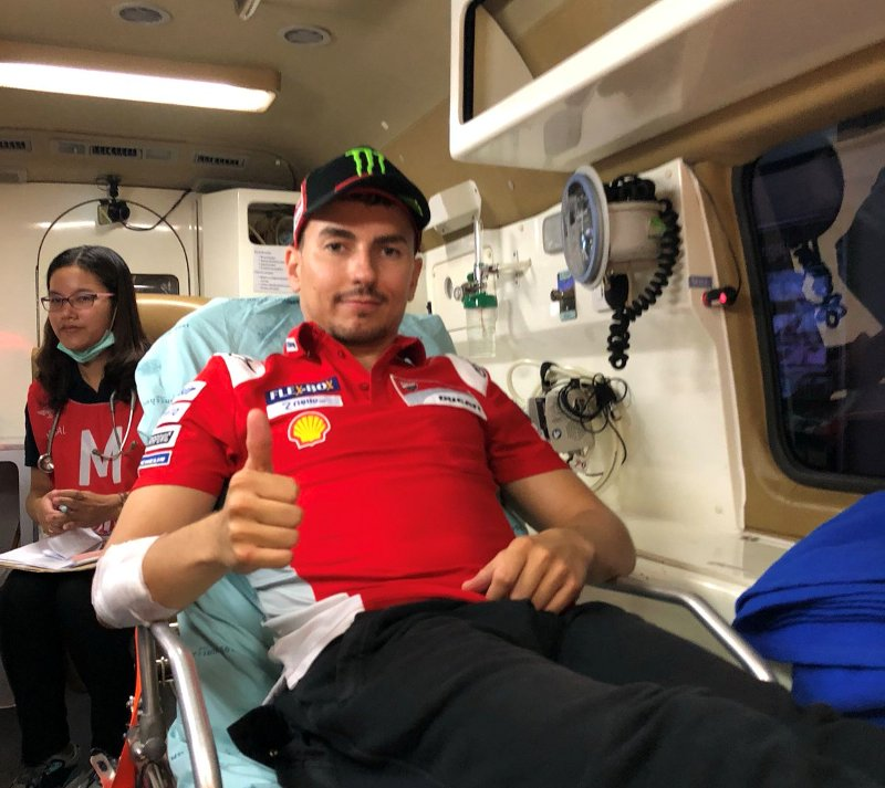 Lorenzo Jalani Operasi Kedua di Kakinya pada Hari Senin