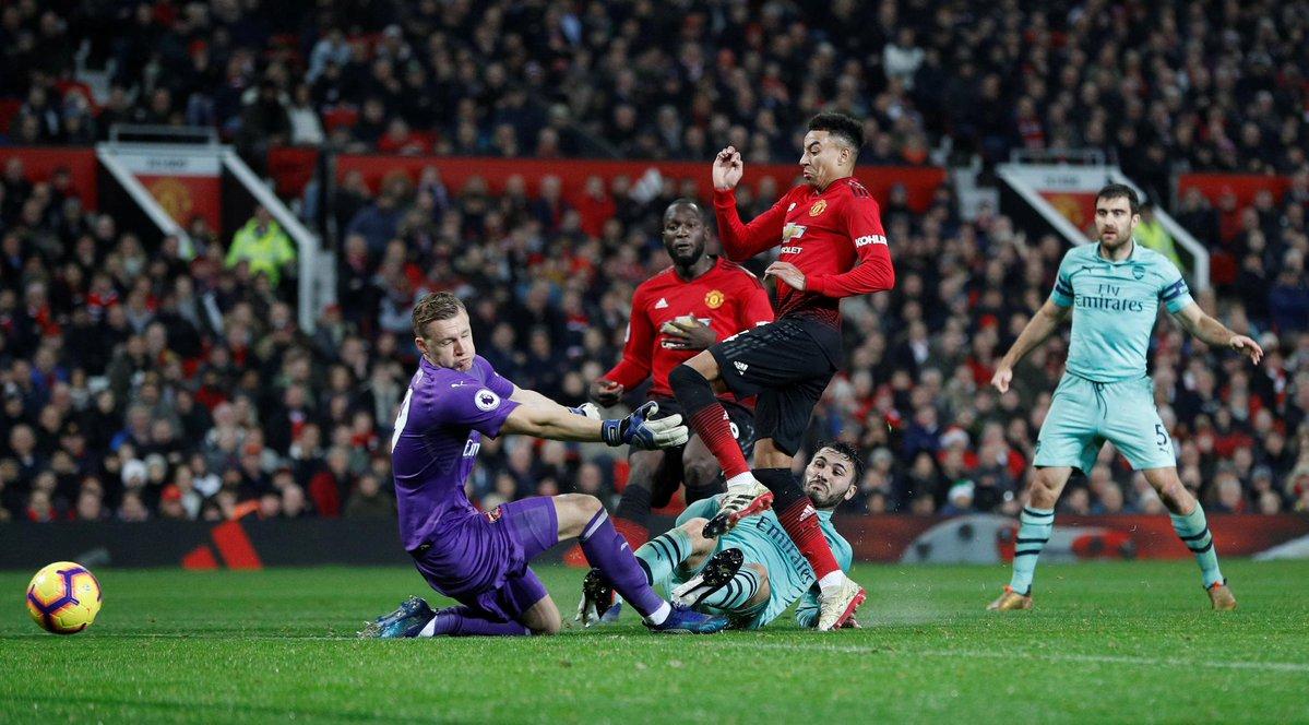 Laga Sengit Man United Vs Arsenal Berakhir 2 2 Okezone Bola