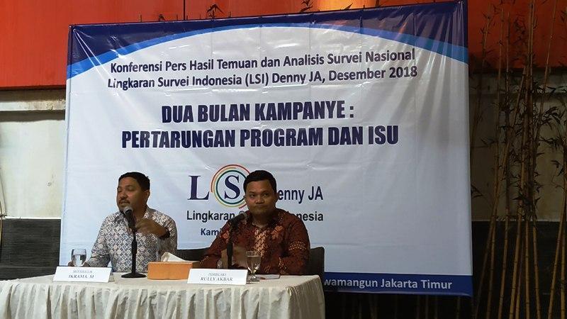LSI Nilai Prabowo Sengaja Marahi Media untuk Giring Opini Pemilihnya