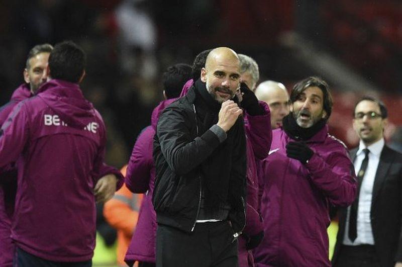Guardiola Bakal Manfaatkan Pertarungan Liverpool Kontra Man United