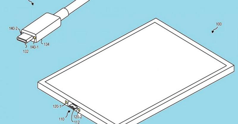 https: img.okeinfo.net content 2018 12 31 207 1998269 microsoft-patenkan-usb-c-magnetik-untuk-tablet-WpVd7aEgnQ.jpg