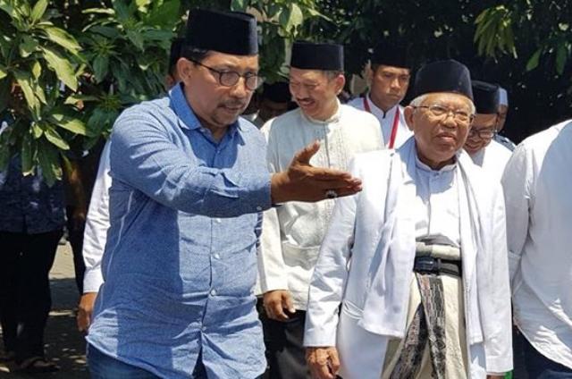Puisi Fadli Zon: Puisi Fadli Zon Buat Warga NU Solid Dukung Jokowi-Ma'ruf
