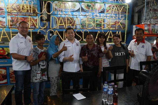 Kulineran Di Simpang Lima Semarang Hary Tanoesoedibjo