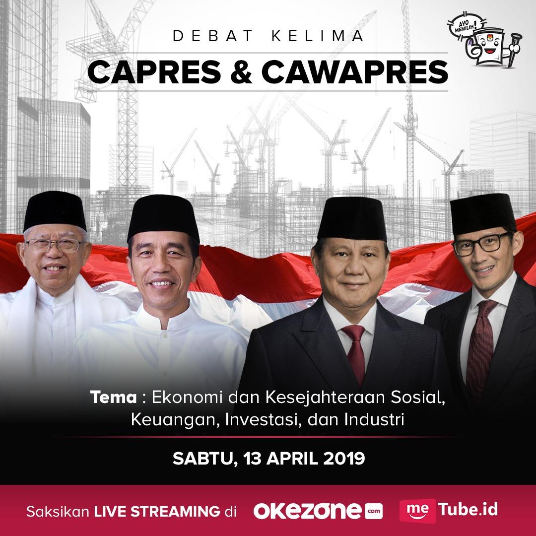 https: img.okeinfo.net content 2019 04 12 337 2042327 saksikan-live-streaming-debat-pilpres-kelima-di-okezone-com-32ILtrfwGx.jpg