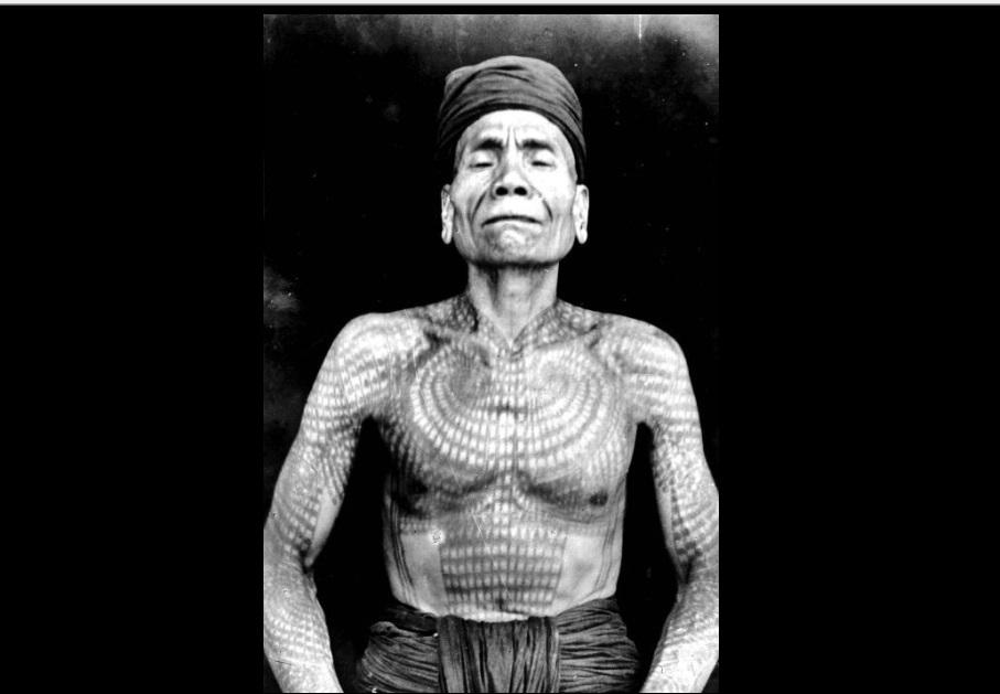101 Gambar Tato Suku Dayak Terlihat Keren