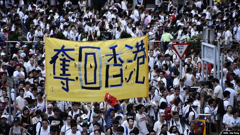 Demo soal RUU Ekstradisi Hong Kong