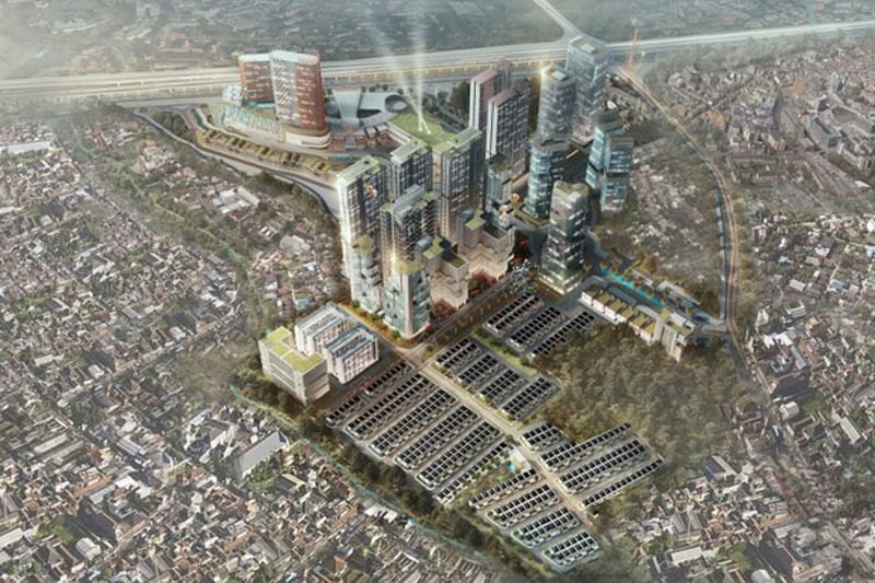 Bogor Utara Akan Jadi Kawasan Pusat Bisnis Baru Okezone