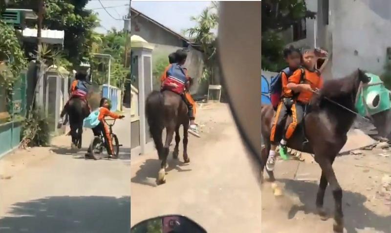 https: img.okeinfo.net content 2019 09 12 337 2103911 viral-anak-sekolah-naik-kuda-jadi-inspirasi-M85U9IJMwZ.jpg