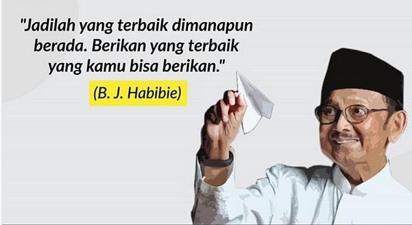 quote bj habibi