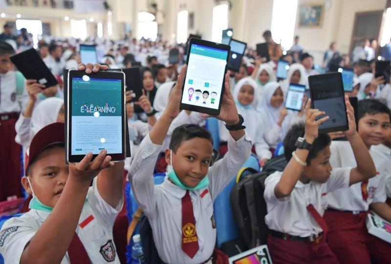 Gambar : Antusiasme Program Digitalisasi Sekolah