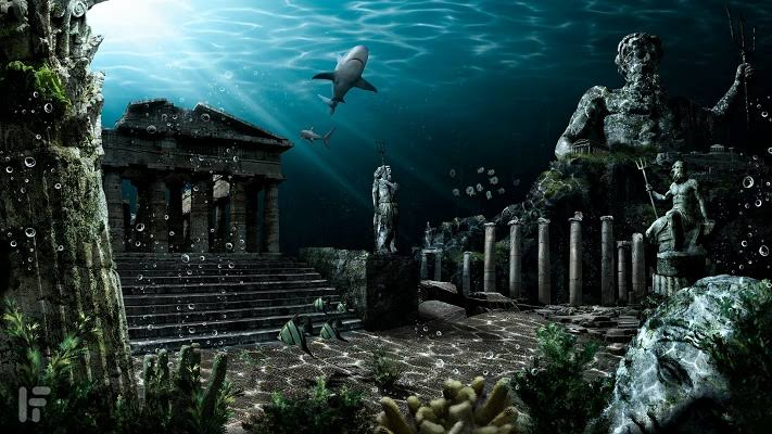 Misteri Kota Atlantis yang Hilang, Peneliti Pernah Simpulkan Ada ...