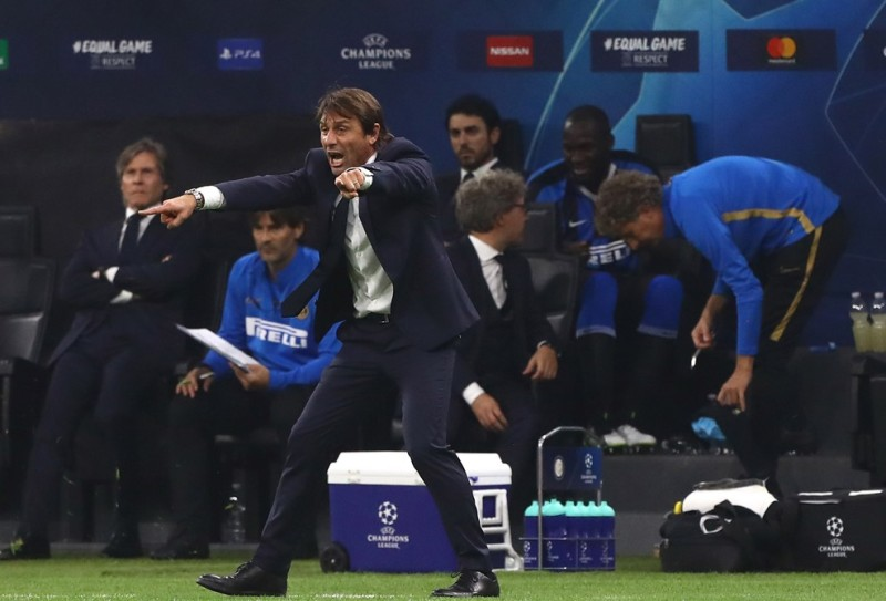 Hasil gambar untuk Inter Conte Dortmund