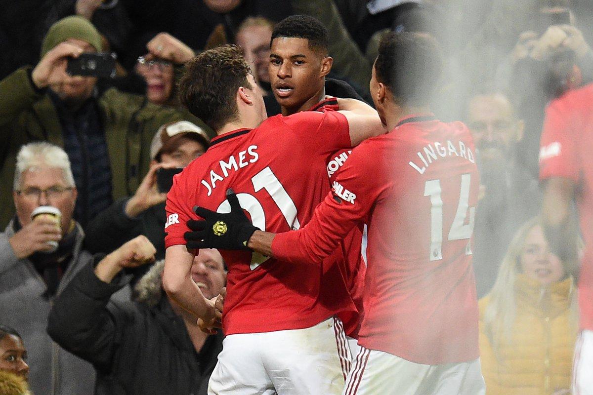 Rashford Antarkan Man United Bungkam Tottenham 2 1 Okezone