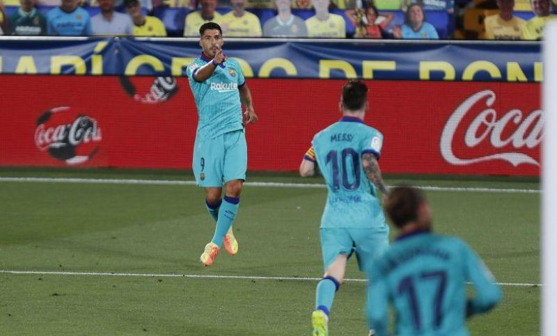 Barcelona Tinggalkan Villarreal 3-1 saat Turun Minum