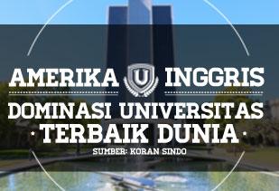 Dominasi Universitas Terbaik Di Dunia