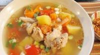 Eksperimen Sup Sayap Ayam