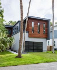 Kombinasi Rumah Bergaya Kontemporer dengan Interior Industrialis Hasilkan Karya Menakjubkan