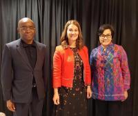 Sst.. Ini Pembicaraan Sri Mulyani dengan Melinda Gates, Istri Orang Terkaya di Dunia
