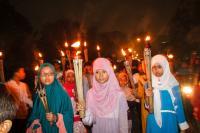 TAHUN BARU  ISLAM: Pawai Obor Malam Tahun Baru Islam Jadi Warisan Leluhur yang Punya Filosofi Mendalam