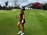 Farah Quinn Rajin Bermain Golf, Apa Ya Manfaatnya bagi Kesehatan?