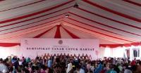 Mantap! Presiden Sebar 1.300 Sertifikat Lahan untuk Petani Sumsel