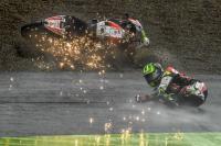 Gagal Finis di GP Jepang, Crutchlow Sebut <i>Race</i> Sulit karena Kondisi Trek yang Basah
