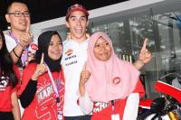 SPORT TWEETS: Berkunjung ke Indonesia, Marquez Sebut <i>Fans</i> di Tanah Air Sangat Spesial!