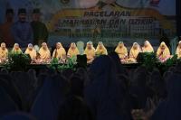 Ramaikan Festival Sungai Carang, Gedung Daerah Tanjung Pinang Dipenuhi 2.000 Jamaah Majelis Taklim