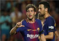 Barcelona Tak Terkalahkan di Liga Champions dan Liga Spanyol, Sergi Roberto Tidak Ingin Jemawa