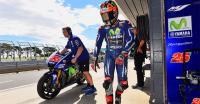 Sempat Terjatuh dari Motor, Vinales Cukup Puas dengan Hasil Latihan Bebas Hari Pertama GP Australia