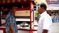 Gara-Gara <i>Branding</i> Gerobak Perindo, Omset Pedagang Bakso Ini Capai Rp1,5 Juta Sehari