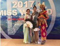 Sampai di China untuk Karantina Miss World 2017, Achintya Nilsen Langsung Jalani Audisi Menari