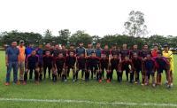 Jelang Tampil di Porprov Sumsel, Tim Sepakbola Lahat Uji Coba Kontra Prabumulih