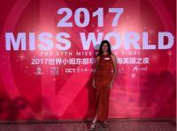 Jadi Vegetarian, Achintya Nilsen Menahan Diri di Karantina Miss World 2017