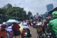 Demo Tolak Perppu Ormas <i>Bikin</i> Macet di Depan Gedung DPR, Polisi Pertimbangkan Rekayasa Lalu Lintas