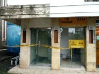 Mesin ATM Dibobol Bule, Satpam Dihajar hingga Babak Belur